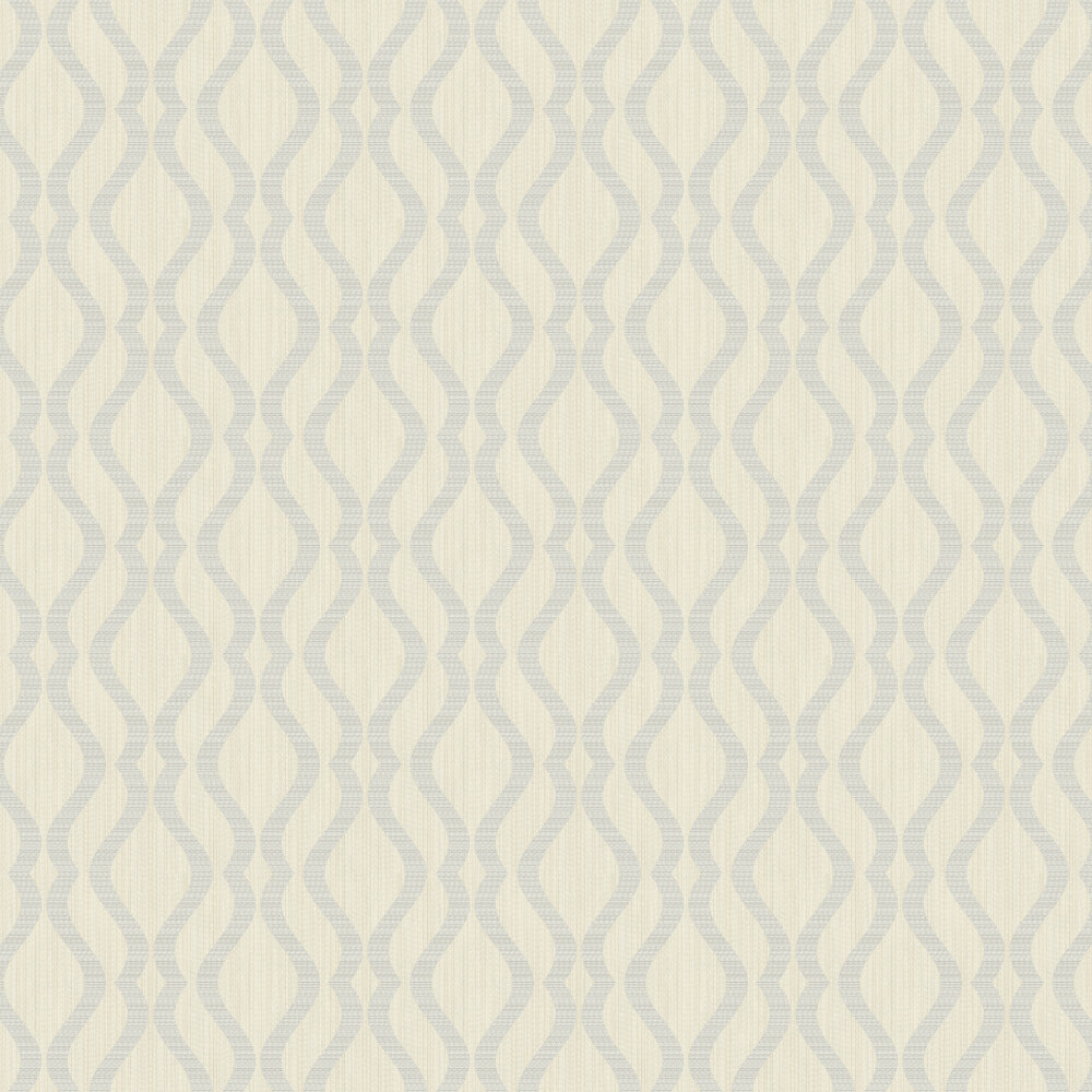 Albany Broken String Geometric Off-white / Grey Wallpaper - Product code: 25064