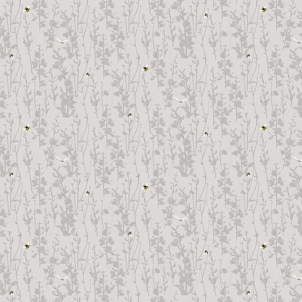 Lorna Syson Broom and Bee Dusk Wallpaper - Product code: BBDW