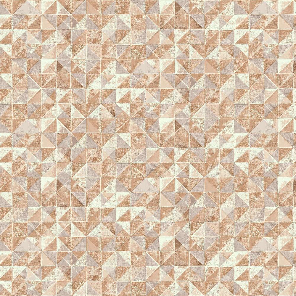 Desert Wall Wallpaper - Orange - by Engblad & Co