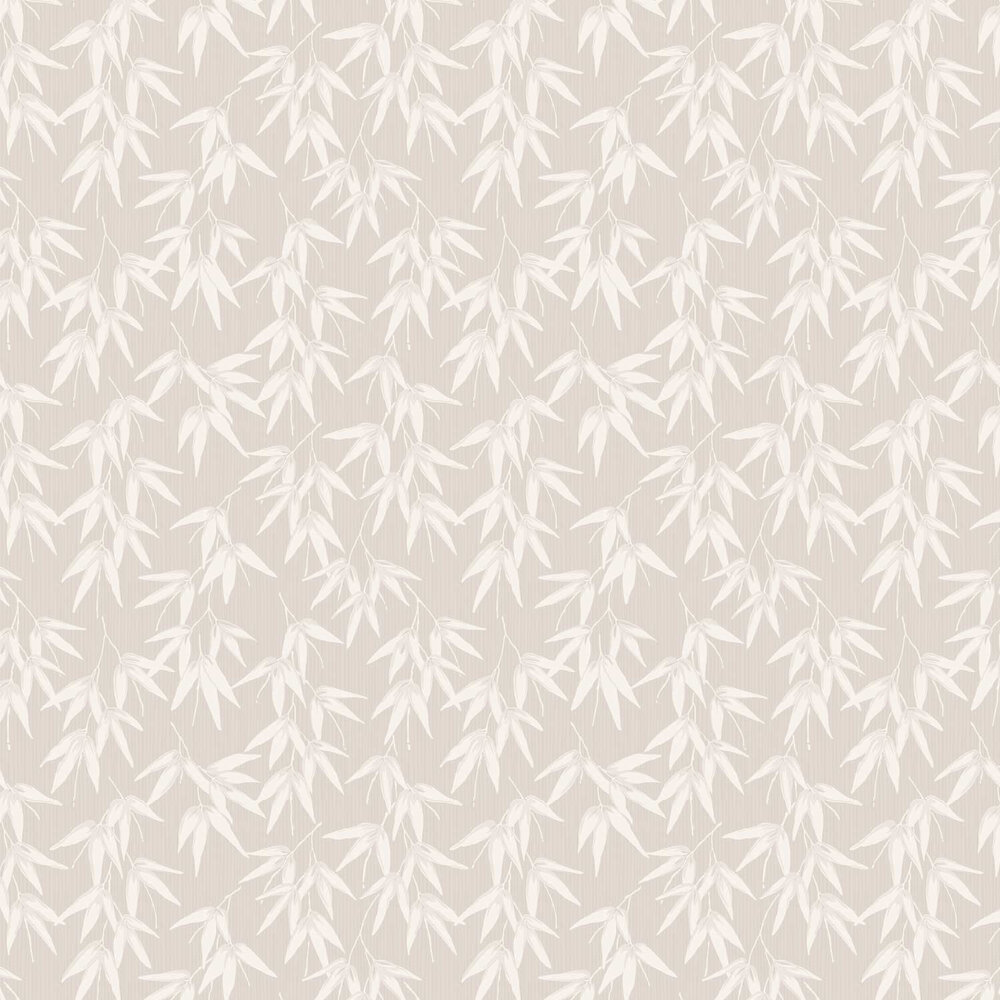 Bamboo Garden Wallpaper - Stone - by Engblad & Co