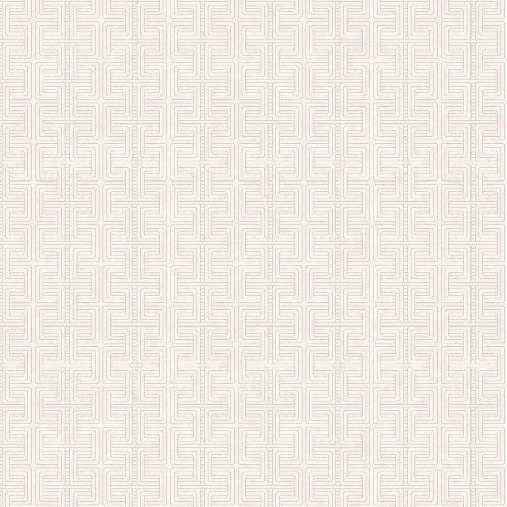 Geo Tribe Wallpaper - Cream - by Engblad & Co