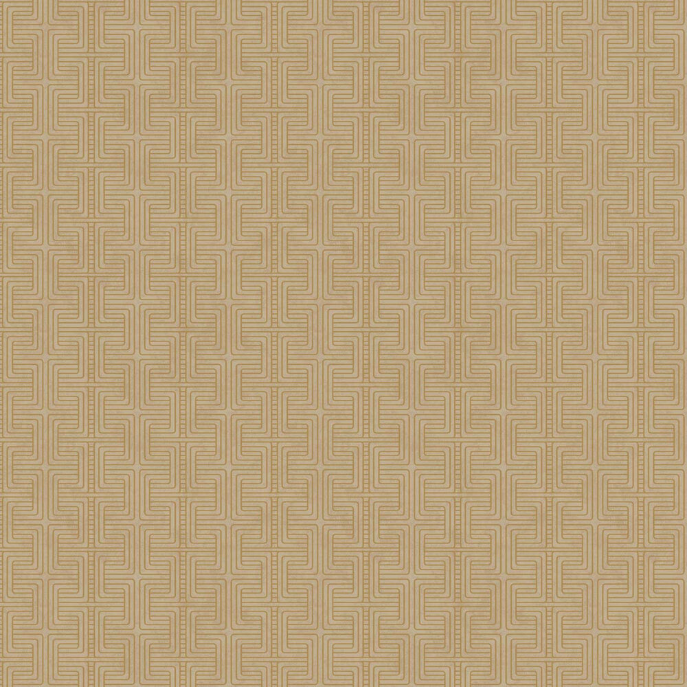 Geo Tribe Wallpaper - Gold  - by Engblad & Co
