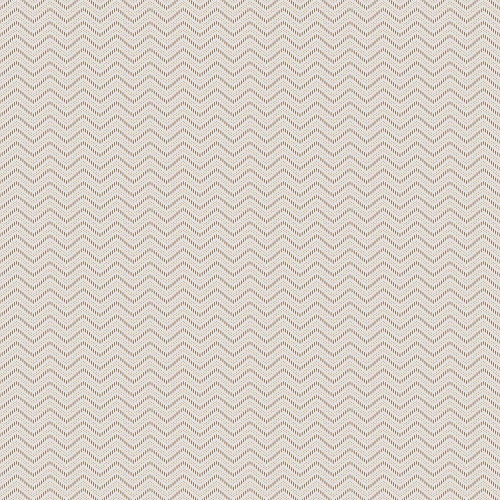 Chevron Dots Wallpaper - Cream - by Engblad & Co