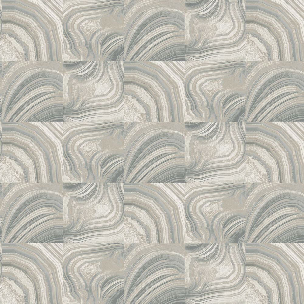 Emporium Savoy Wallpaper - Grey - by Albany