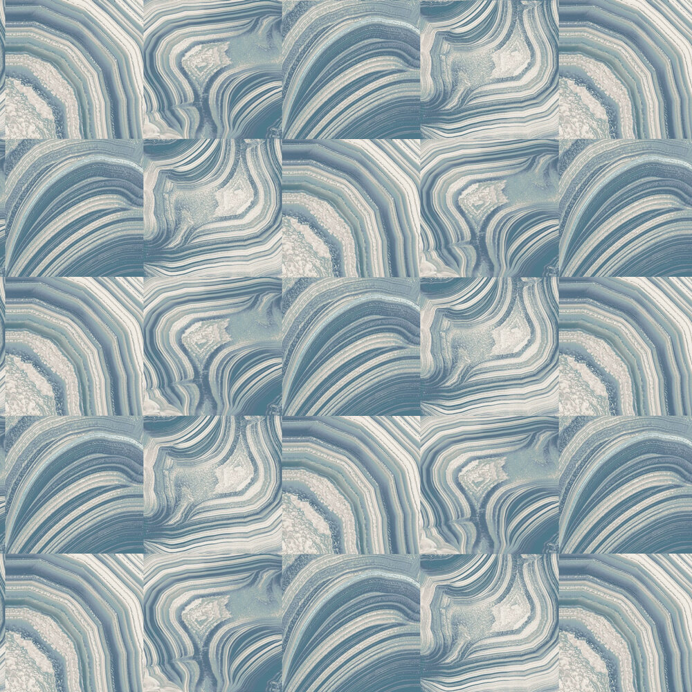 Albany Emporium Savoy Blue Wallpaper - Product code: M1466