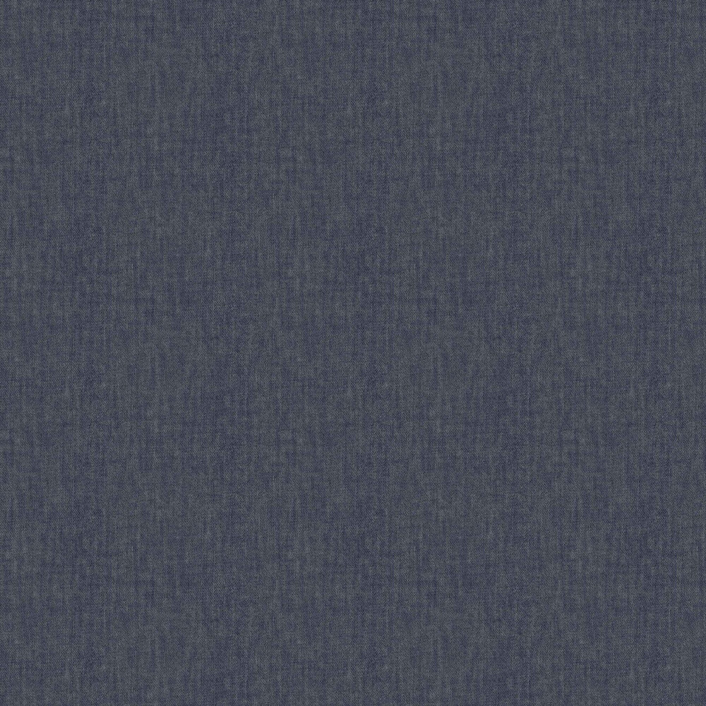 Miami Jeans Plain Wallpaper - Navy - by Coca Cola