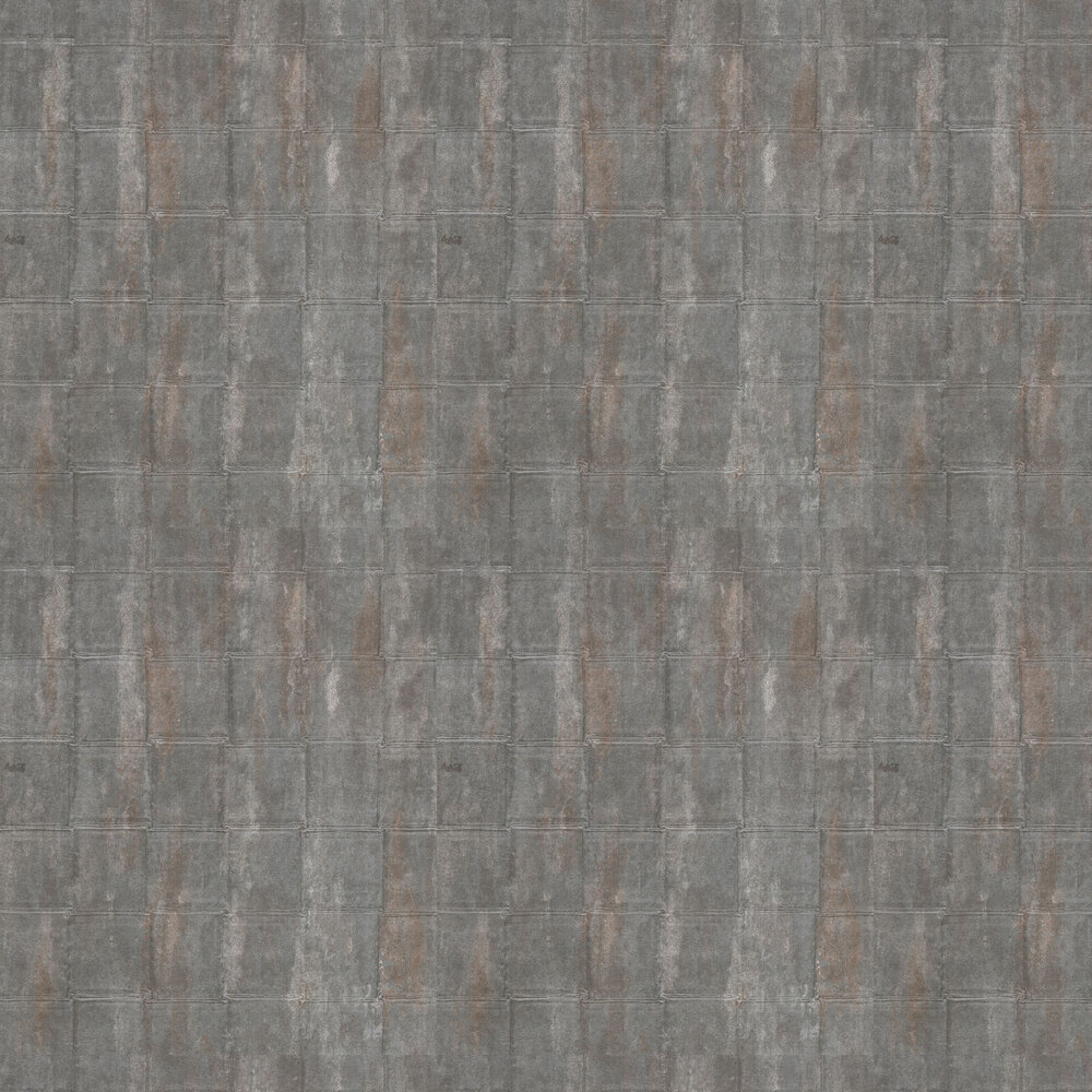 Geronimo Plain Wallpaper - Gunmetal - by Coca Cola