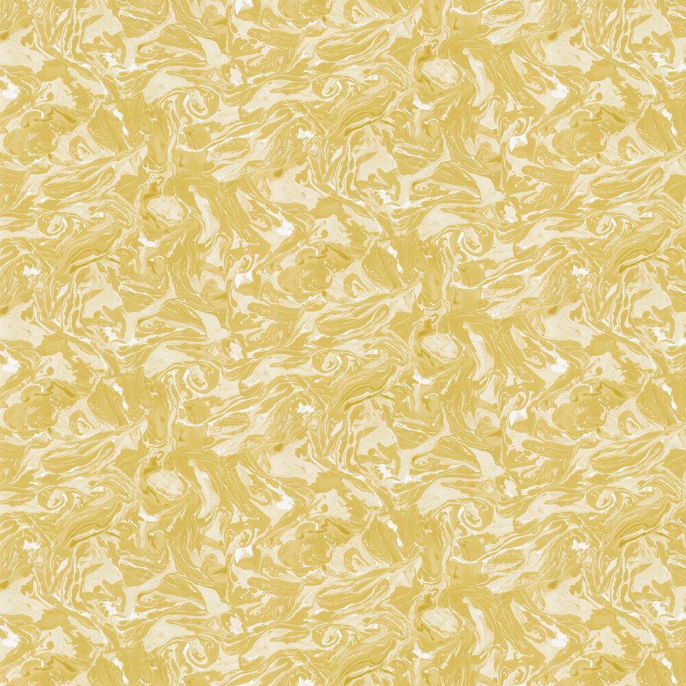 Marion Wallpaper - Ochre - by Sandberg