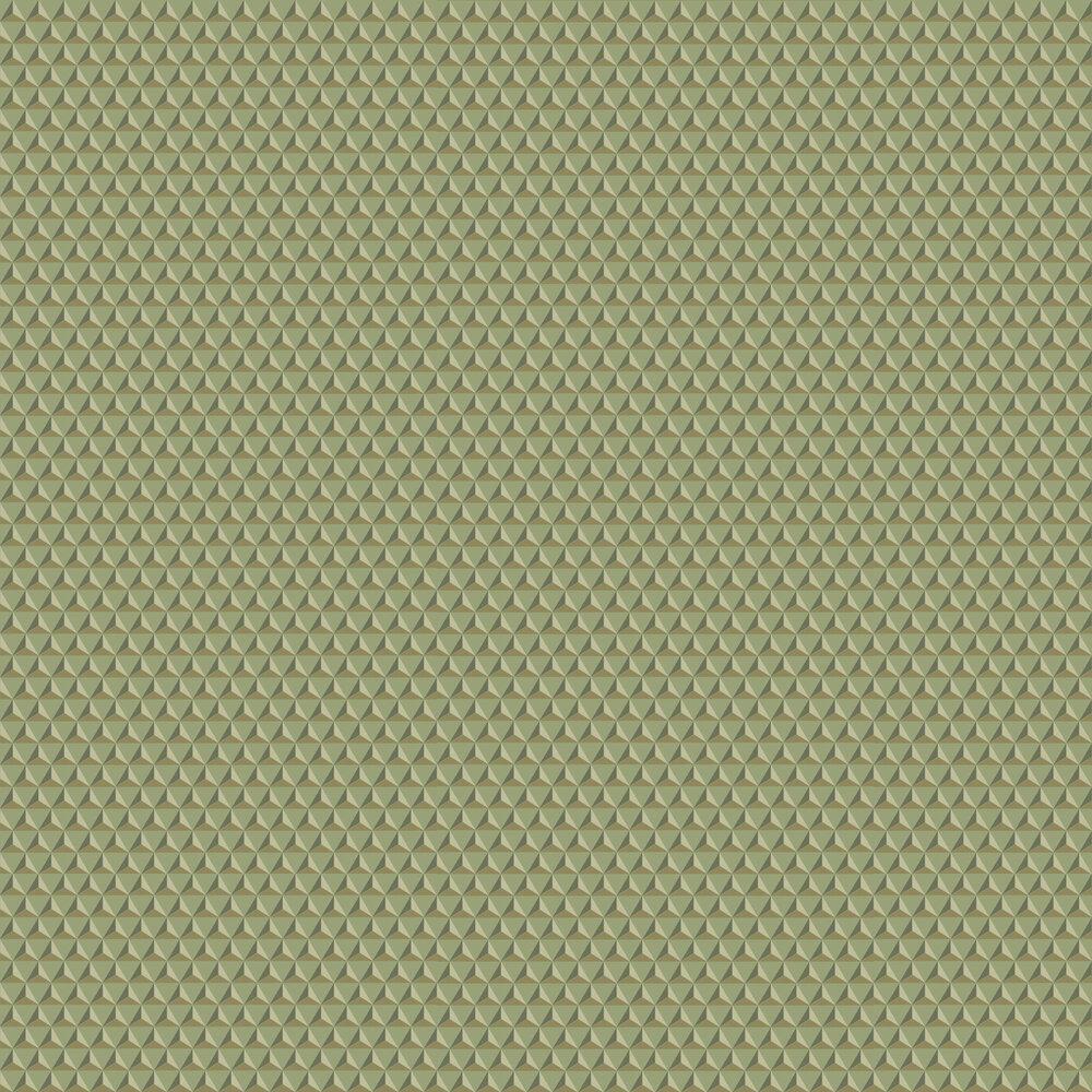 Chloe Wallpaper - Sage Green - by Sandberg