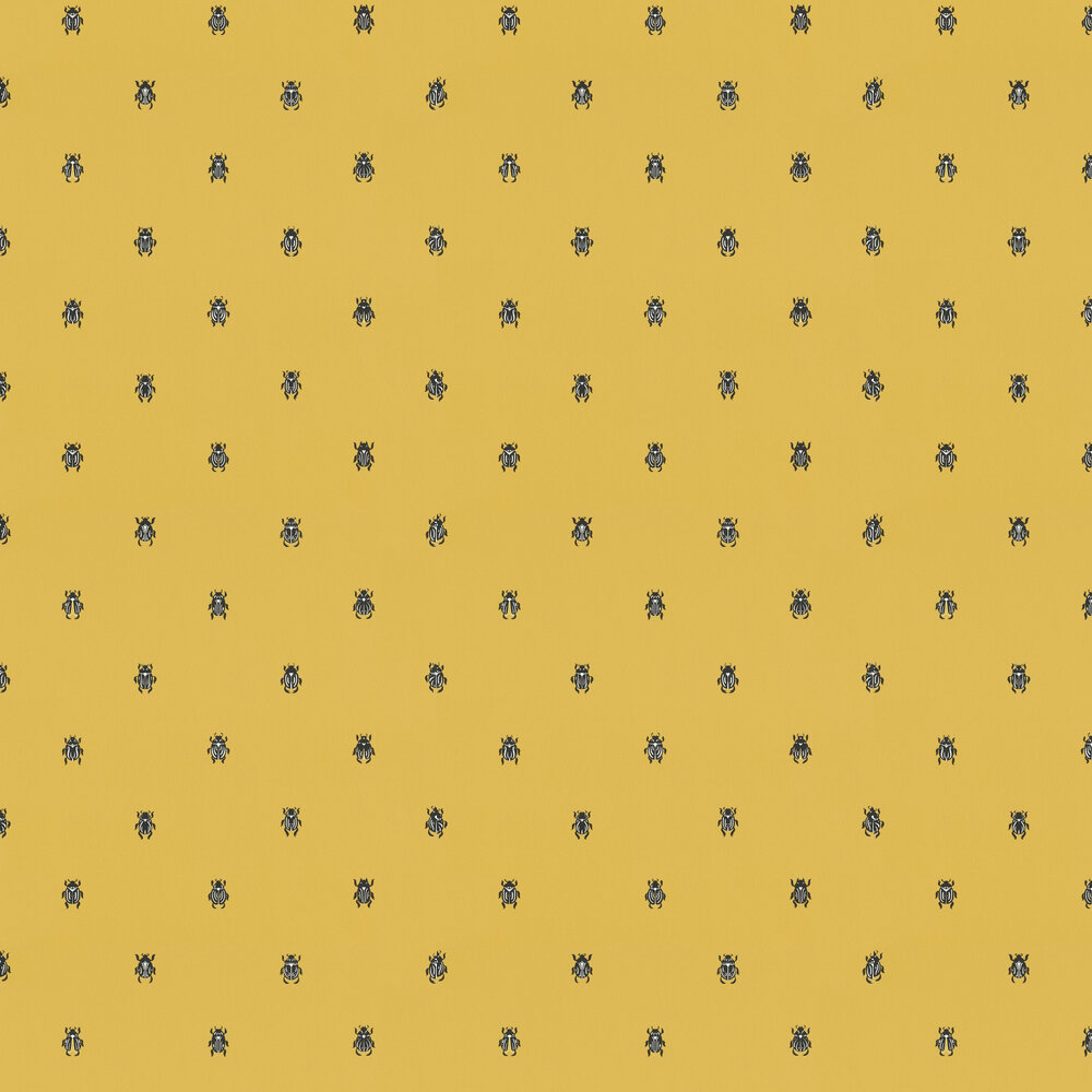 Sandberg Audrey Ochre Wallpaper - Product code: 231-72