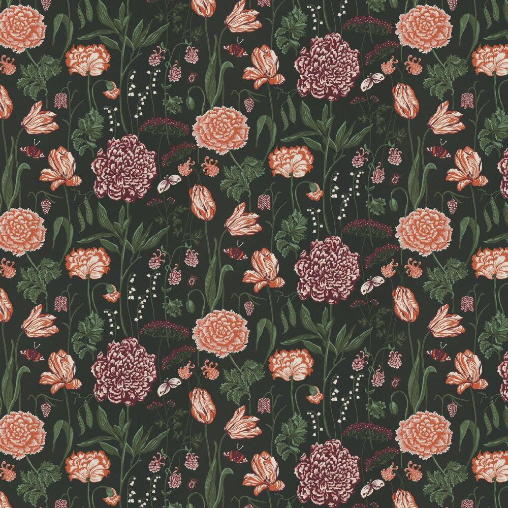 Aurelie Wallpaper - Black - by Sandberg