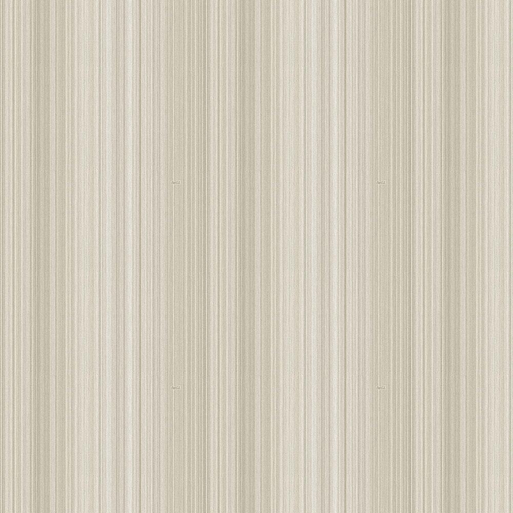 Multicolour Thin Stripes Wallpaper - Opal White - by Coca Cola