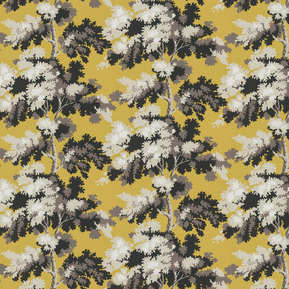 Raphael Wallpaper - Ochre - by Sandberg