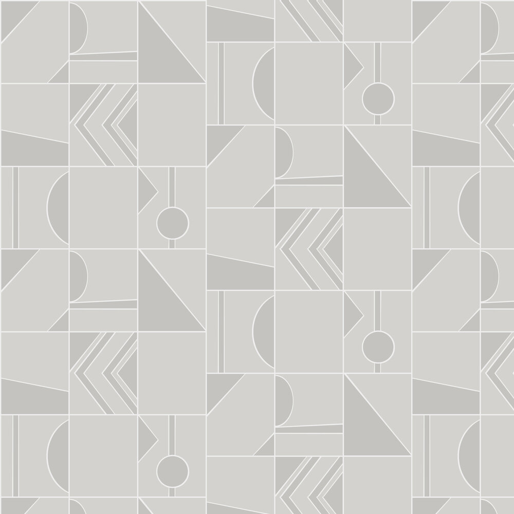 Groove Wallpaper - Grey - by Hooked on Walls