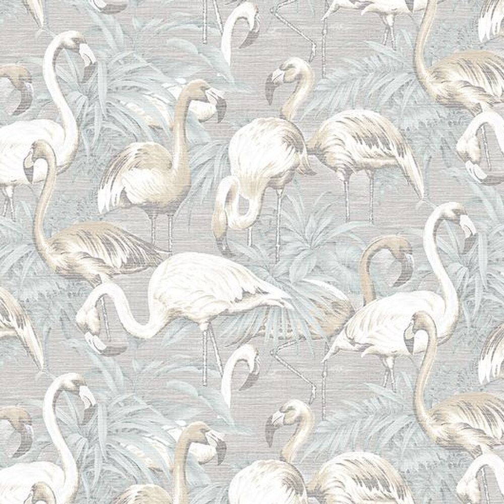Arte Flamingo Light Blue Wallpaper - Product code: 31542