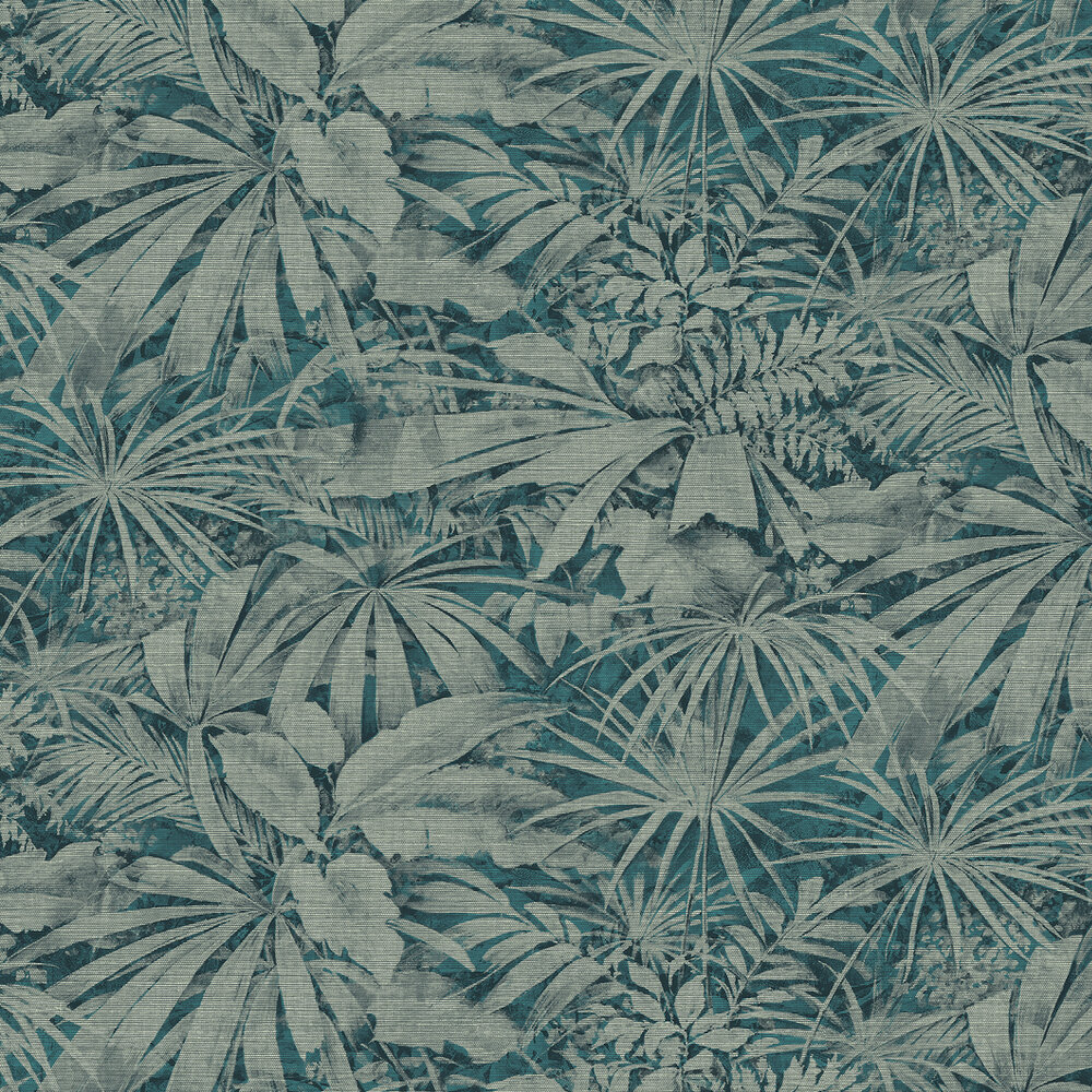 Grove Wallpaper - Muted Green - by Arte