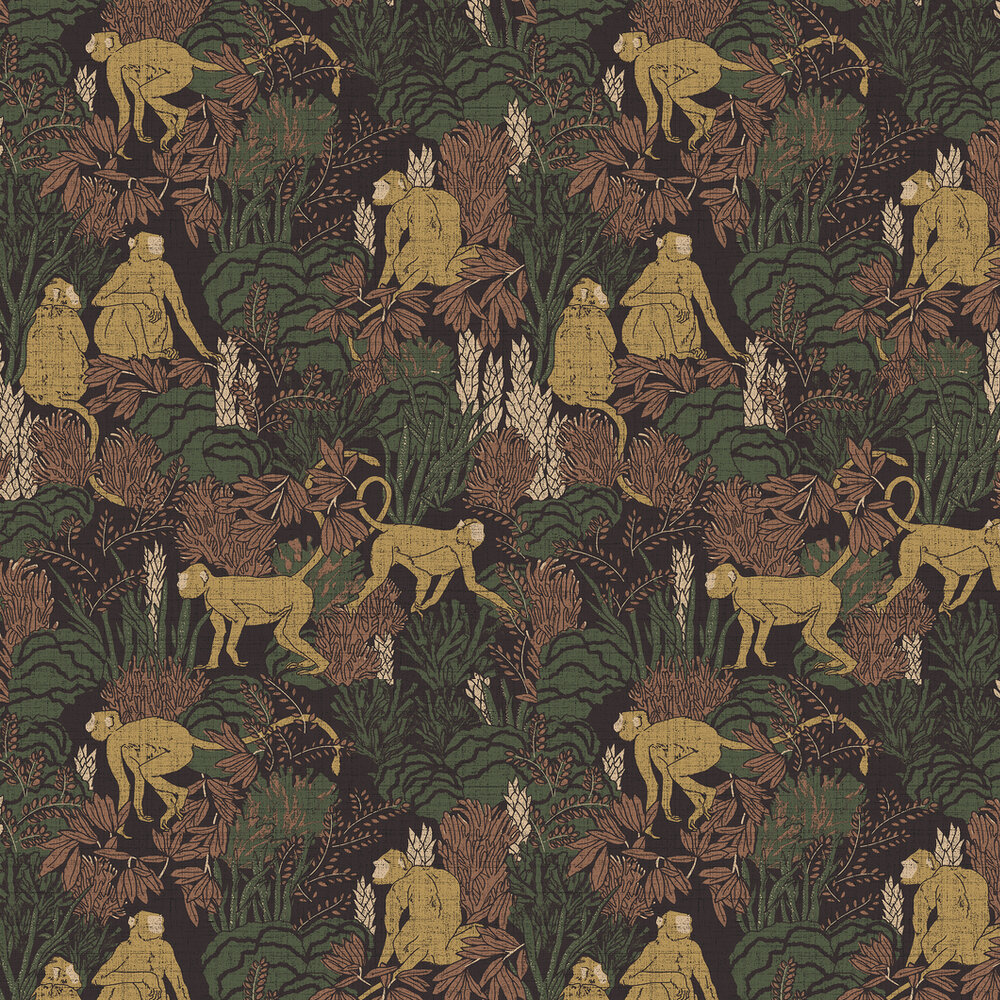 Arte Langur Copper Wallpaper - Product code: 13530