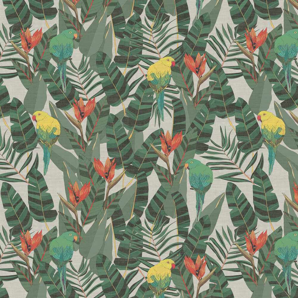 Arte Arcadia Green Wallpaper - Product code: 13570