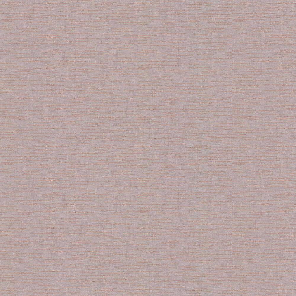 Tiziano Plain Wallpaper - Copper / Silver - by Jane Churchill