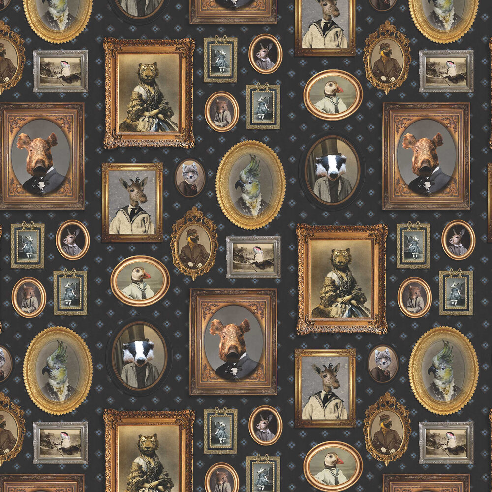 Graduate Collection Portrait Gallery Navy Wallpaper - Product code: CC1VISWALDN