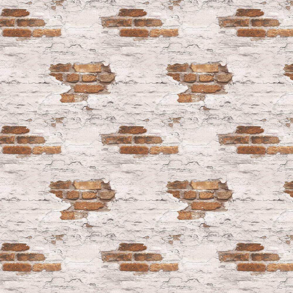 Galerie Distressed Brick Wallpaper - Product code: G45352