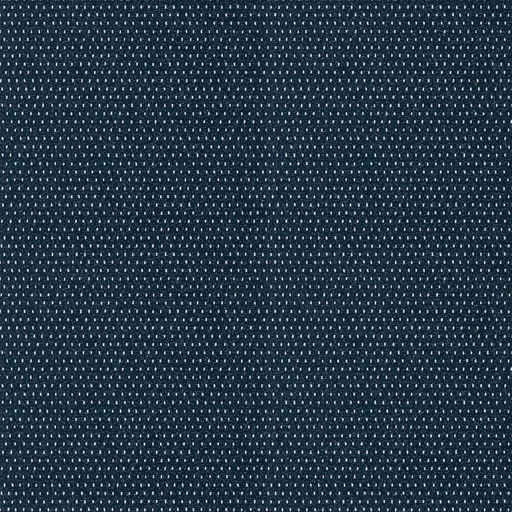 Mali Dot Wallpaper - Navy - by Anna French