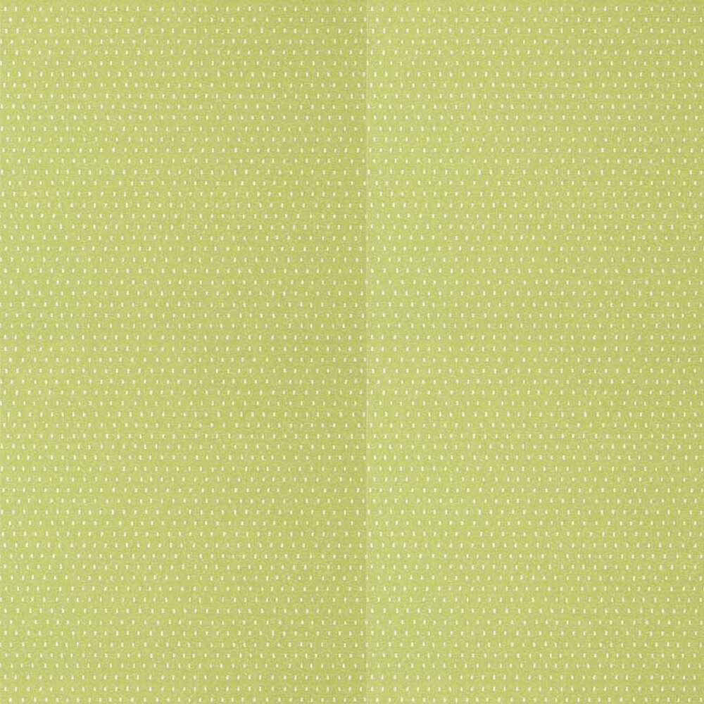 Mali Dot Wallpaper - Green - by Anna French