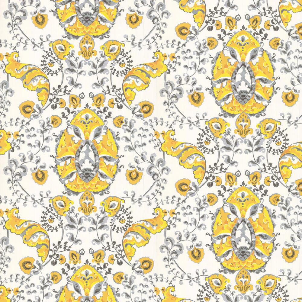 Kandola Emperor Yellow Wallpaper - Product code: DW1659/01