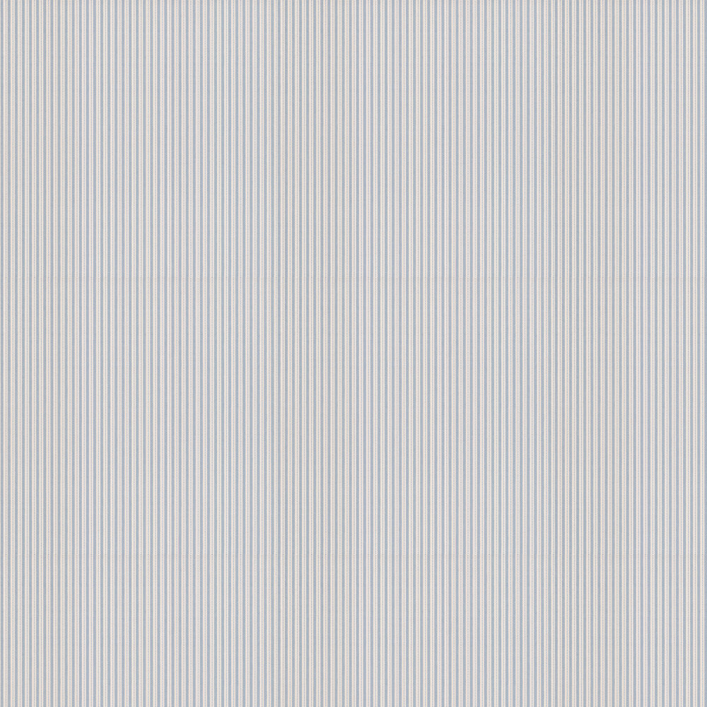 Ditton Stripe Wallpaper - Navy - by Colefax and Fowler