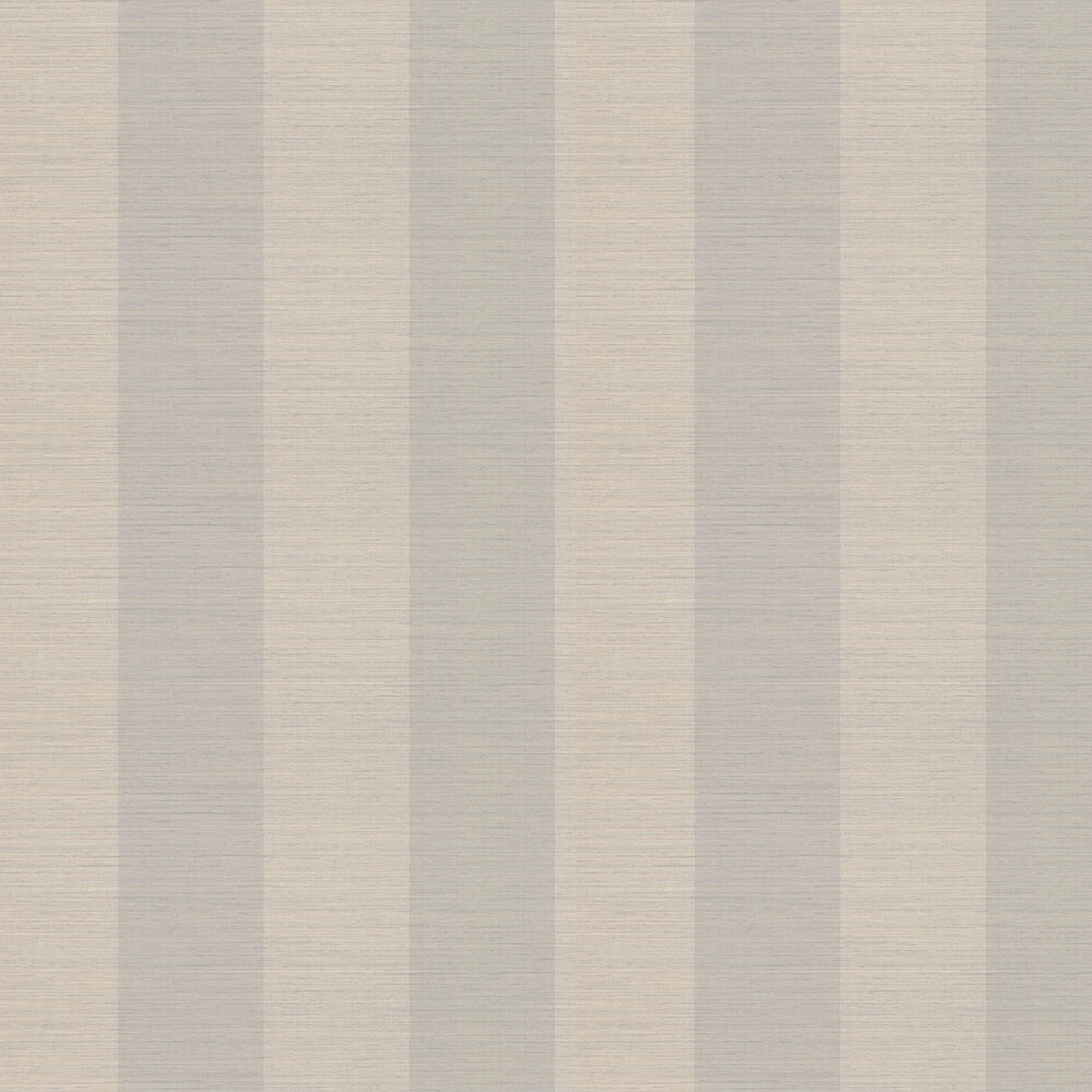 Sandrine Stripe Wallpaper - Old Blue - by Colefax and Fowler