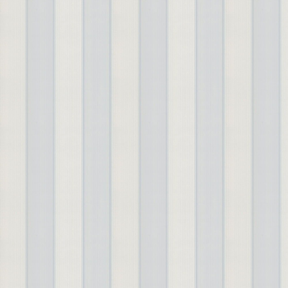 Mallory Stripe Wallpaper - Old Blue - by Colefax and Fowler