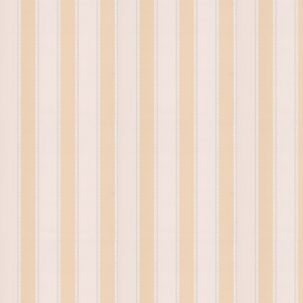 Hume Stripe Wallpaper - Yellow - by Colefax and Fowler