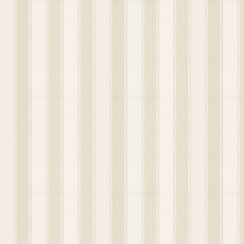 Hume Stripe Wallpaper - Leaf - by Colefax and Fowler