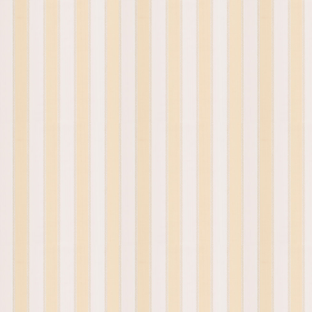 Graycott Stripe Wallpaper - Yellow - by Colefax and Fowler