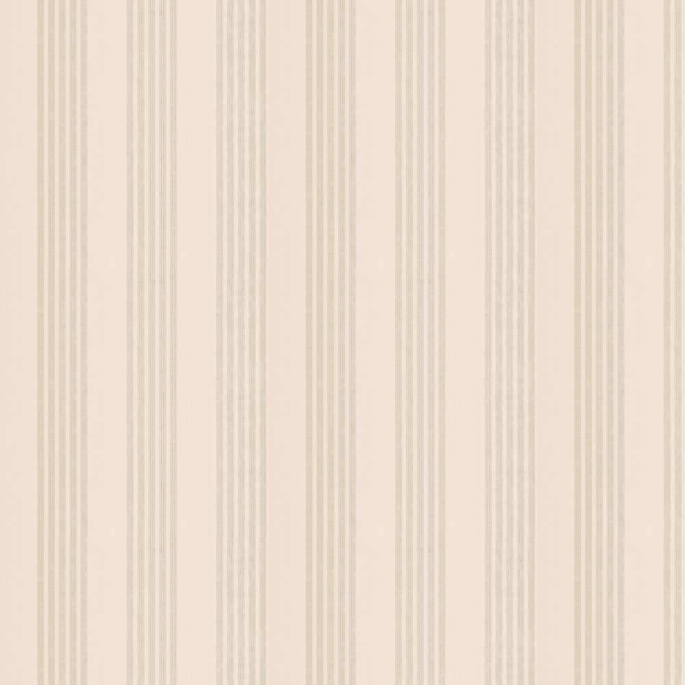 Jude Stripe Wallpaper - Leaf - by Colefax and Fowler