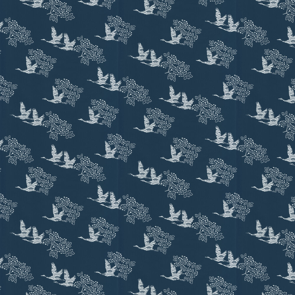 Caselio Tobu Navy Wallpaper - Product code: HAN10031 6908