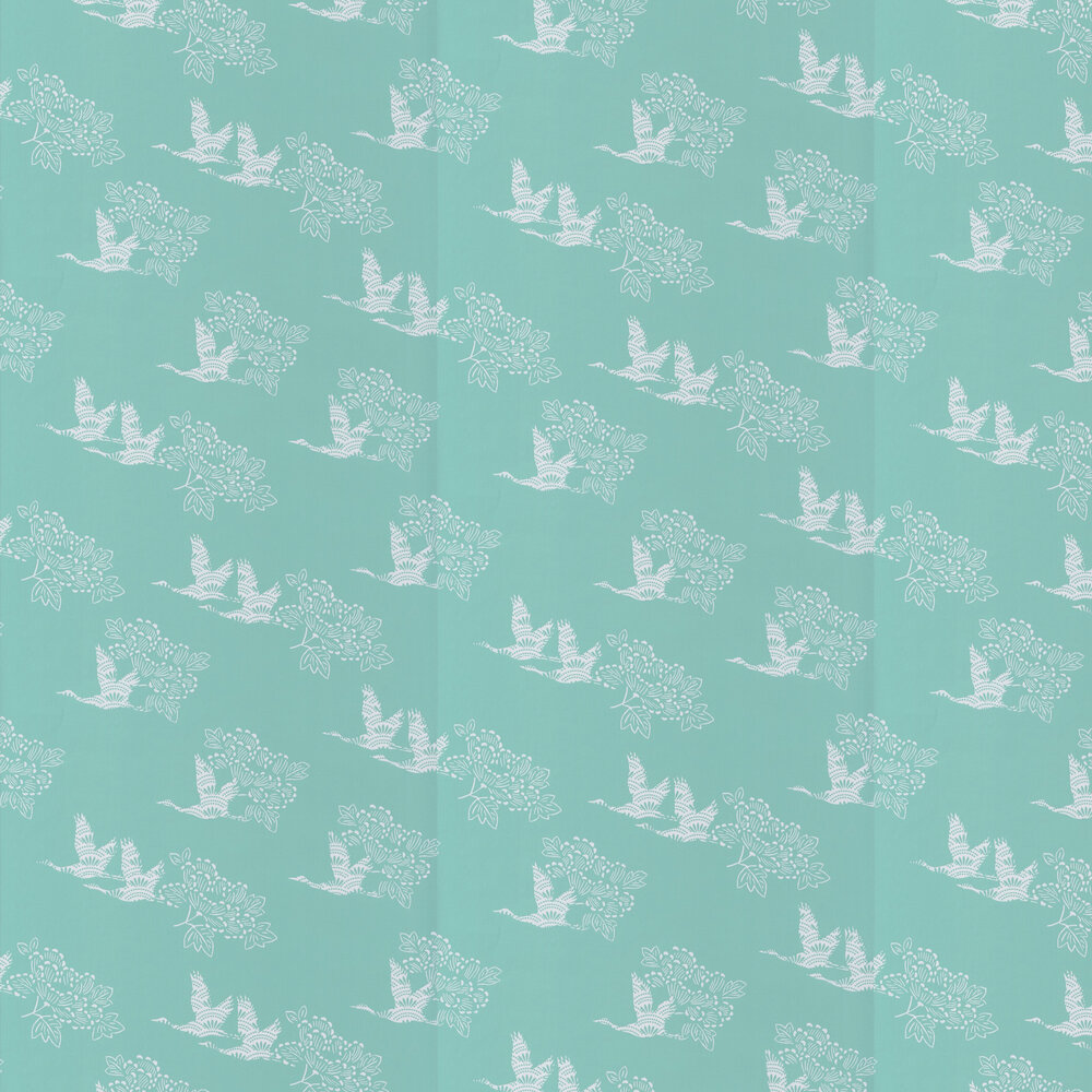 Tobu Wallpaper - Mint - by Caselio
