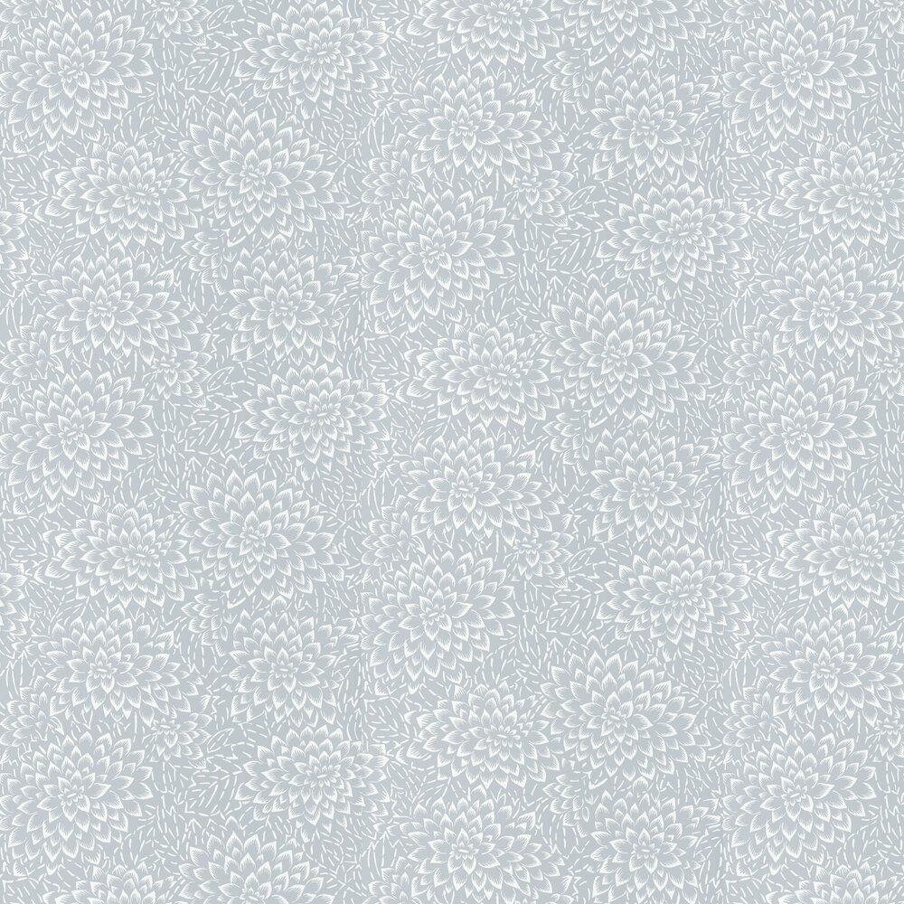 Hana Wallpaper - Grey - by Caselio
