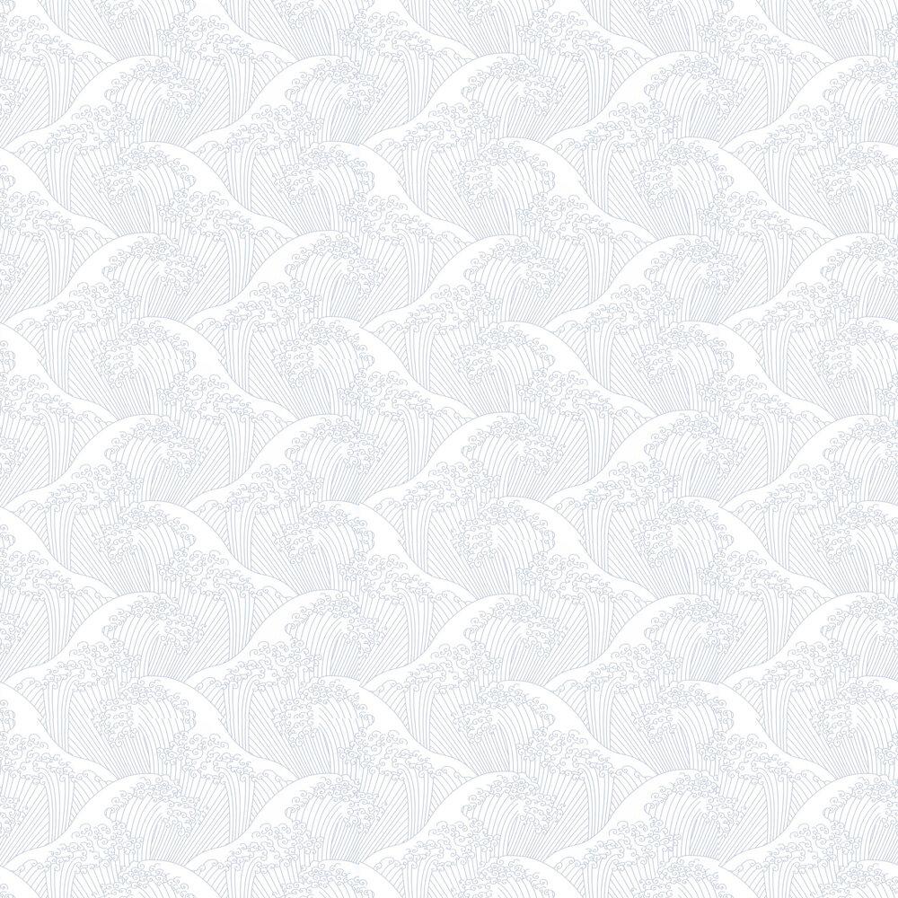 Caselio Nami Silver Wallpaper - Product code: HAN10038 9404