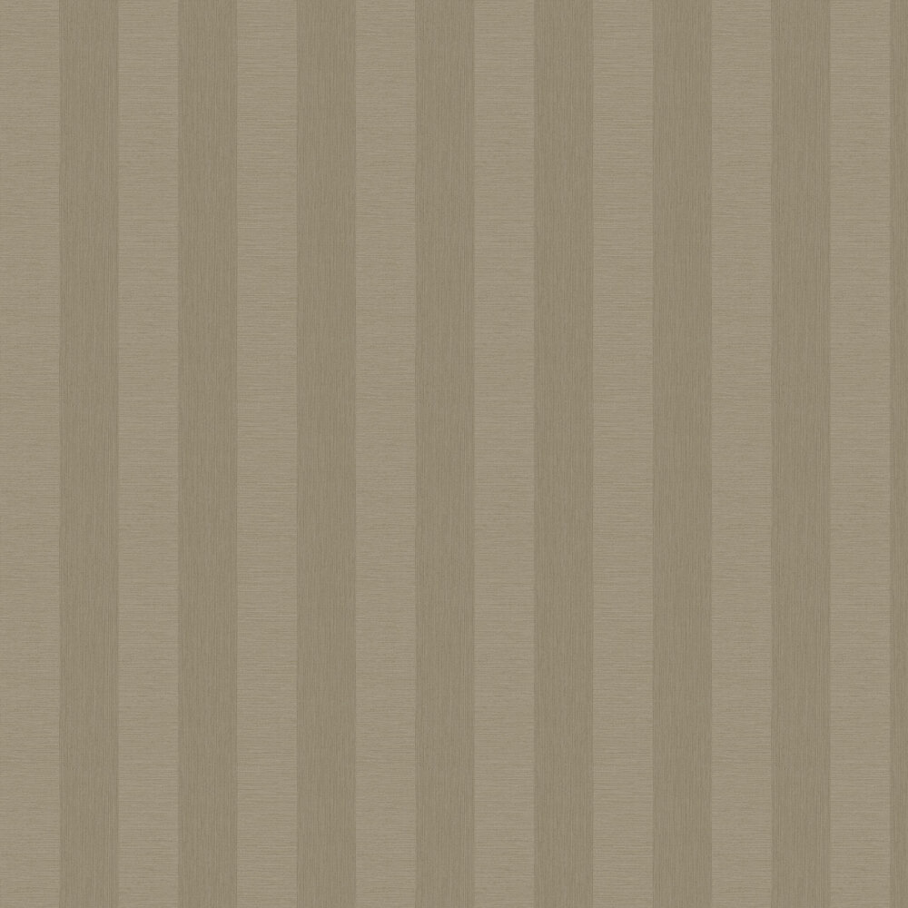 Faux Grasscloth Stripe Wallpaper - Taupe - by Albany