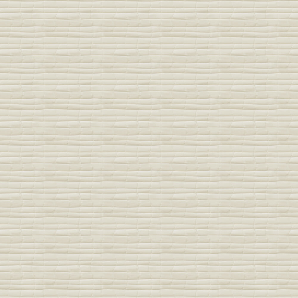 Flow Wallpaper - Cream - by Hooked on Walls