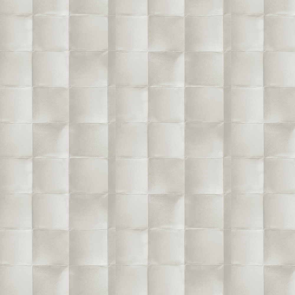 Blocks Wallpaper - Off-white - by Hooked on Walls