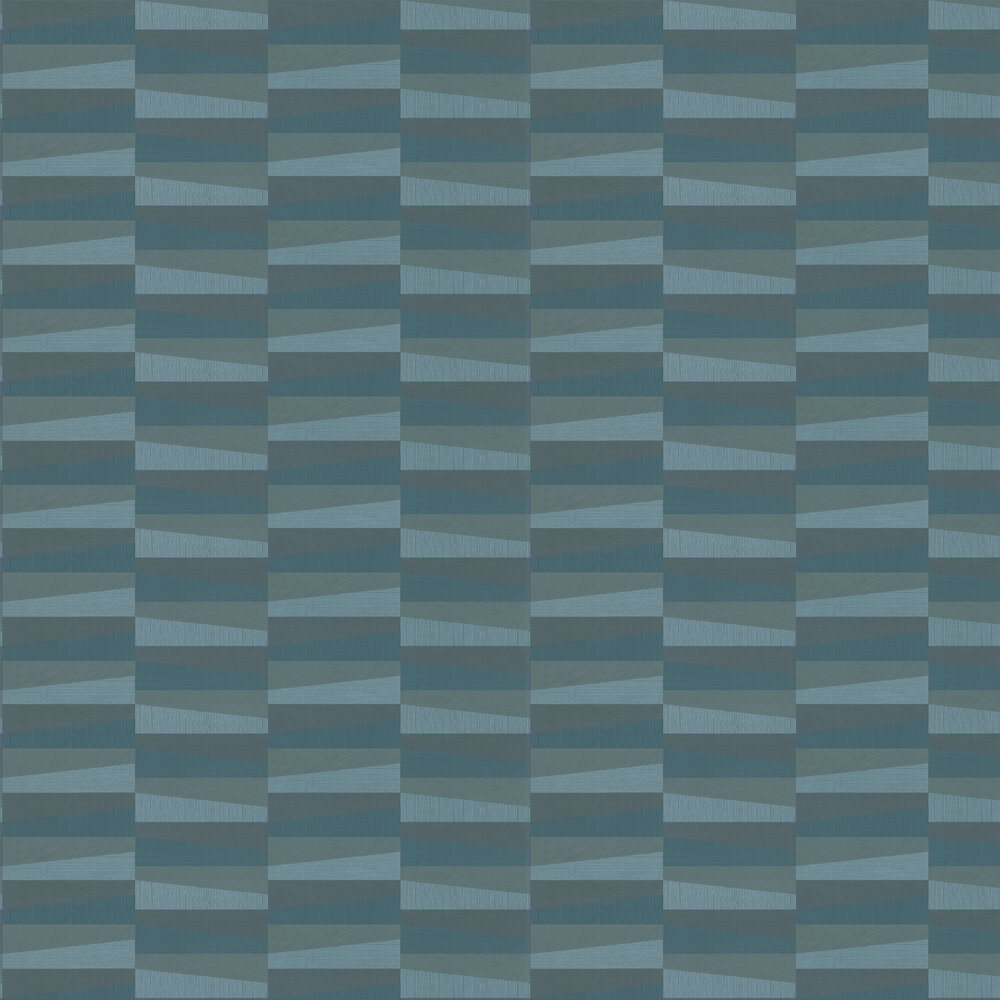 Arte Polygon Teal / Green Wallpaper - Product code: 26553