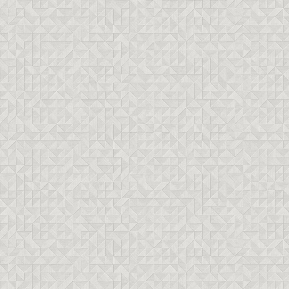 Small 3D Wood Wallpaper - Light Grey - by Albany