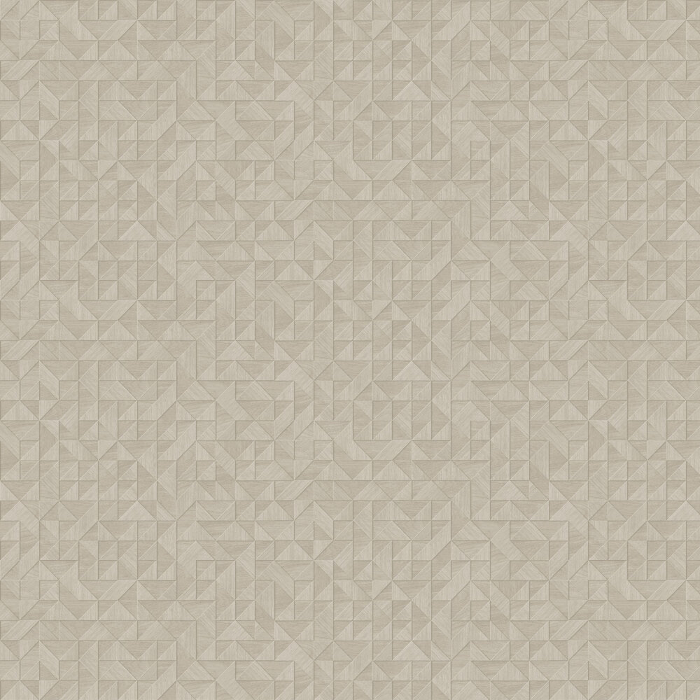 Small 3D Wood Wallpaper - Light Natural - by Albany