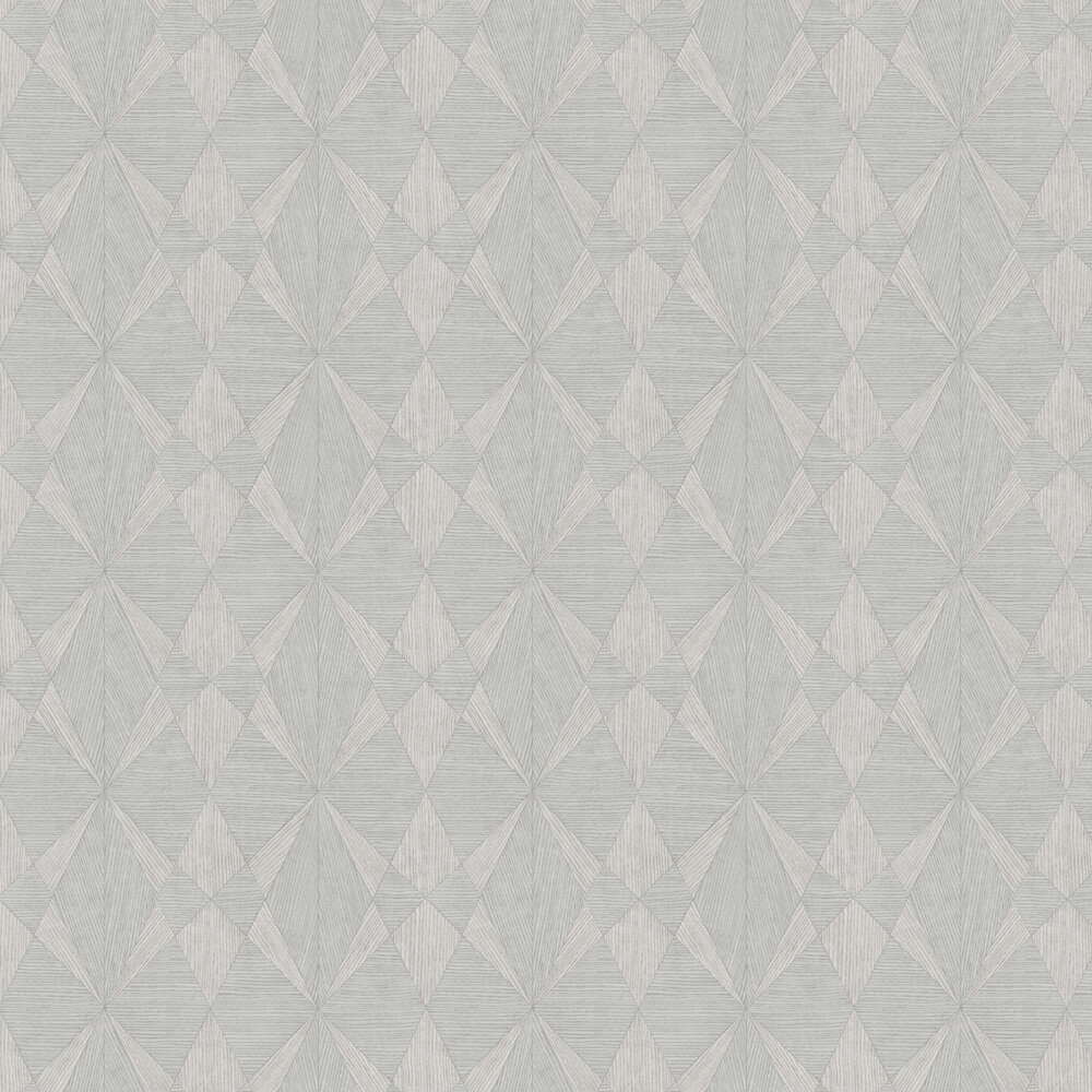 Laminated Plywood Wallpaper - Grey - by Albany