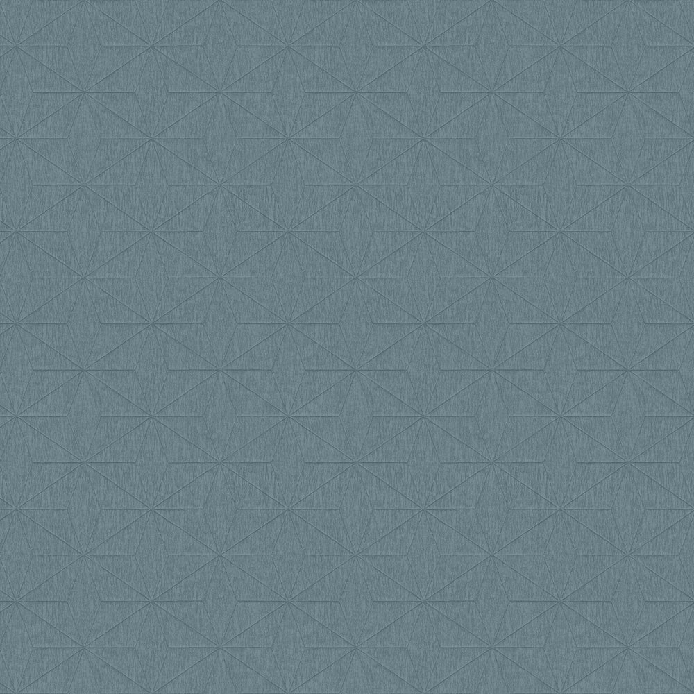 Crepe Star Wallpaper - Teal - by Albany