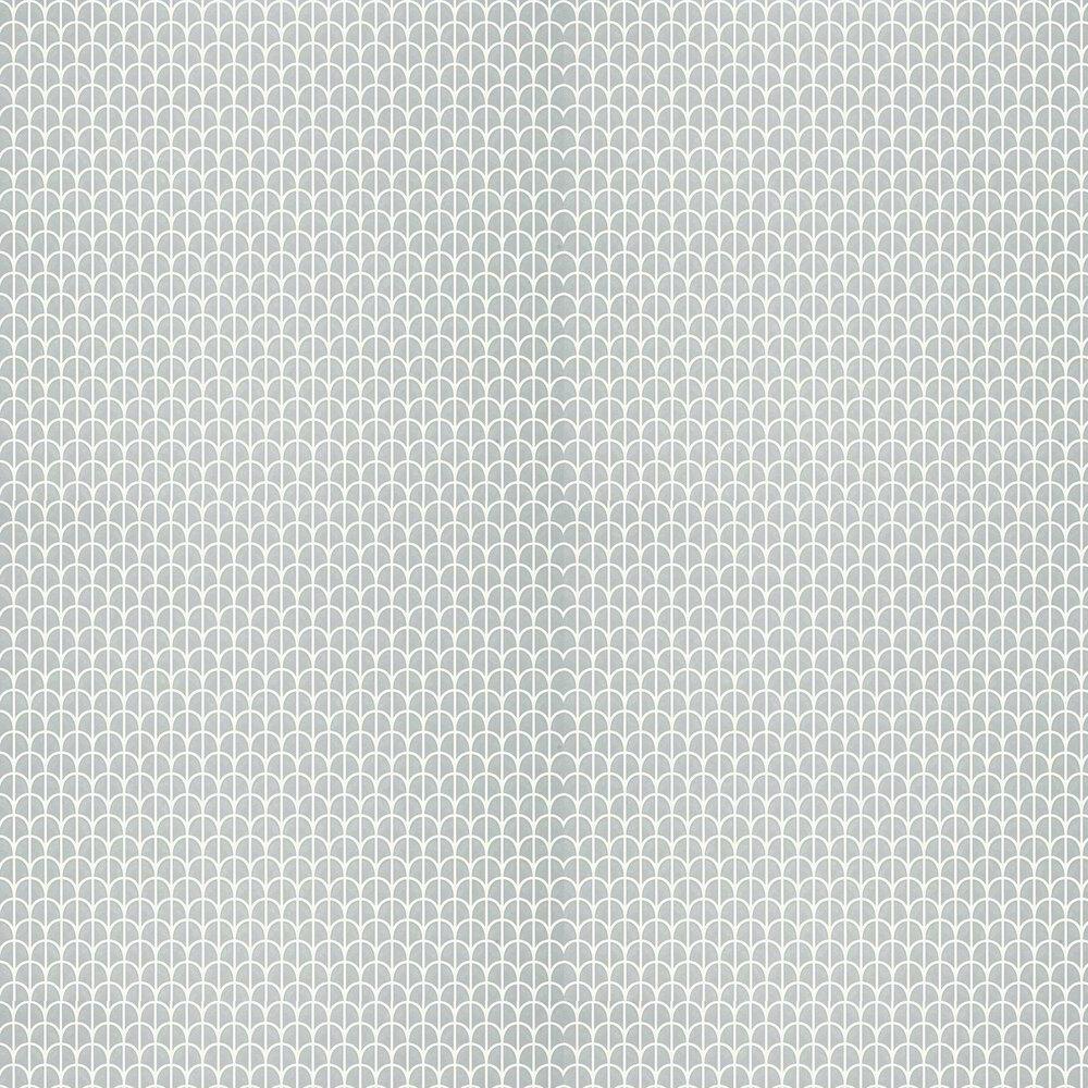 Hillock Wallpaper - Grey - by Thibaut