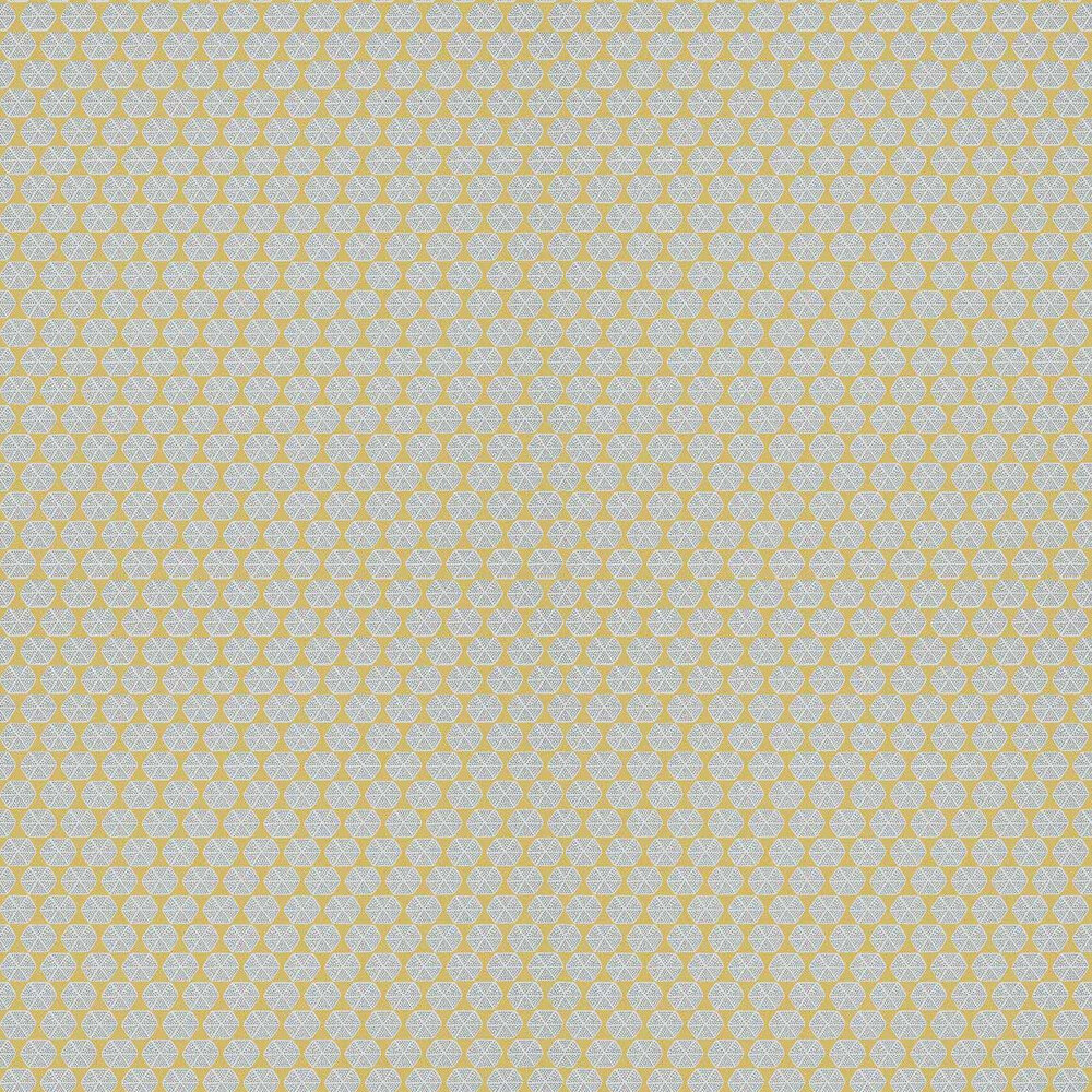 Parada Wallpaper - Yellow - by Thibaut