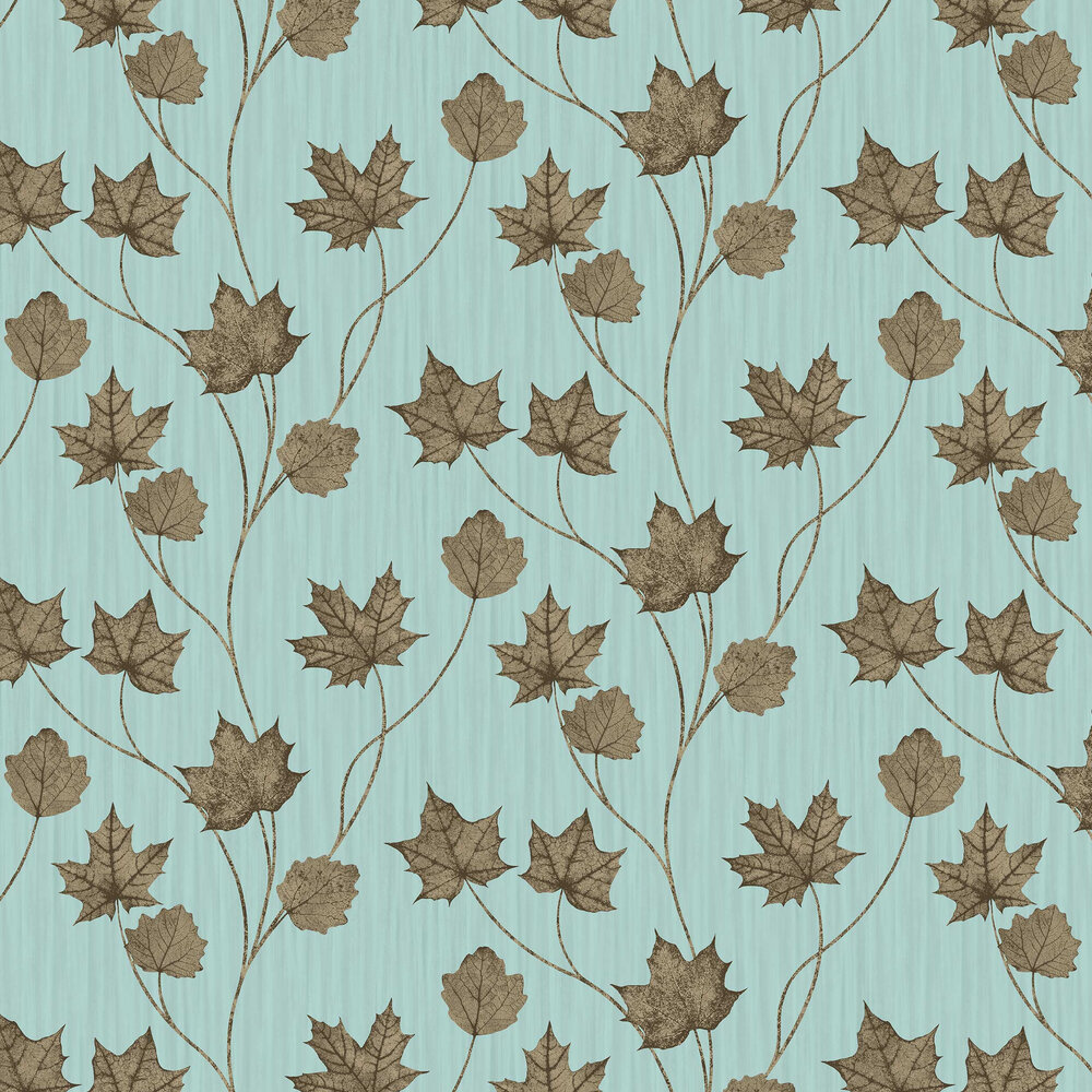 Albany Maple Teal Wallpaper - Product code: 90400